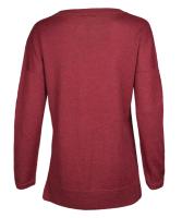 Alpaca Sweater, berry M