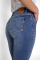 Suzie Slim Jeans, electric light blue