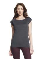 Bamboo Raglan Shirt Charcoal Grey L